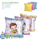 Colorful flowers hanging pillow